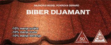 Biber Dijamant Gerard crijep