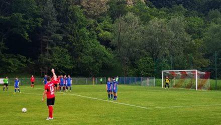 Detalj s utakmice Croatia Hrastje - Sava Strmec (foto preuzet s facebooka NK Croatia Hrastje)