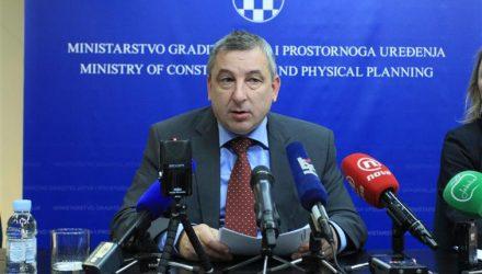 Predrag Štromar, ministar graditeljstva i prostornog uređenja (foto preuzet s portala hns.hr)